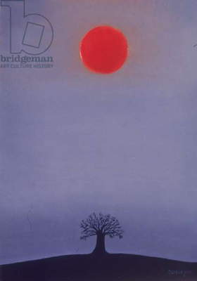 Red Sun, 2002 (oil on canvas)
