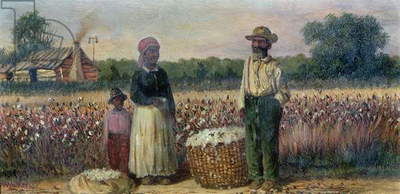 Cotton Pickers in the American South (board) (for pair see 67736)