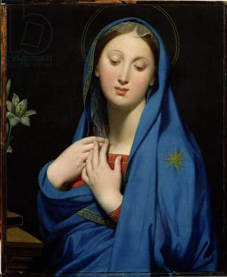 Virgin of the Adoption, 1858 (oil on canvas)