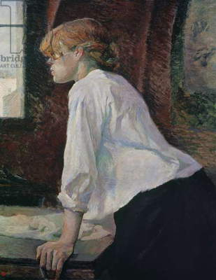 The Laundress, 1889 (oil on canvas)