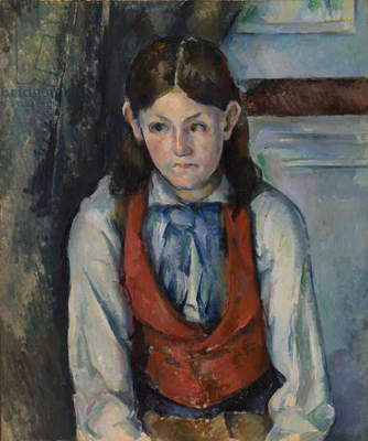 Boy in a Red Vest, 1888-90 (oil on canvas)