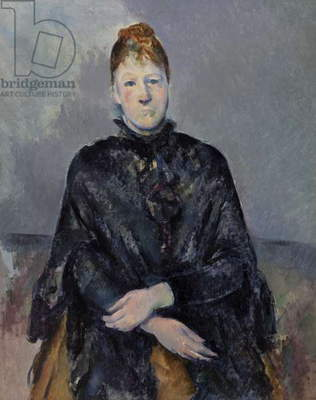 Madame Cezanne, 1888-90 (oil on canvas)