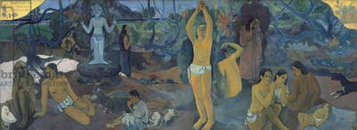 Where Do We Come From? Where Are We? Where Are We Going? 1897 (oil on canvas) (see 207298-99)