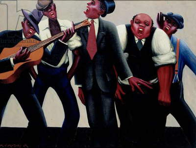 The Jazz Singers, 1934 (oil on canvas)