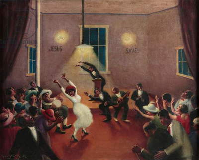 Tongues (Holy Rollers), 1929 (oil on canvas)