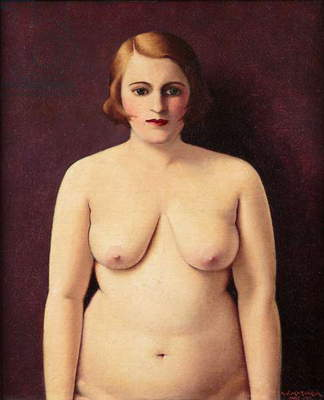 Nude (Portrait of My Wife), 1930 (oil on canvas)