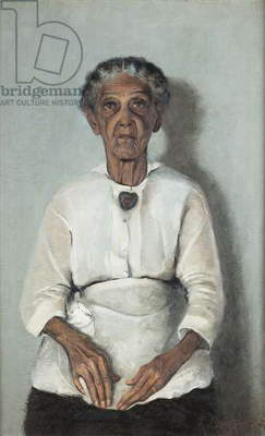Portrait of my Grandmother, 1922 (oil on canvas)