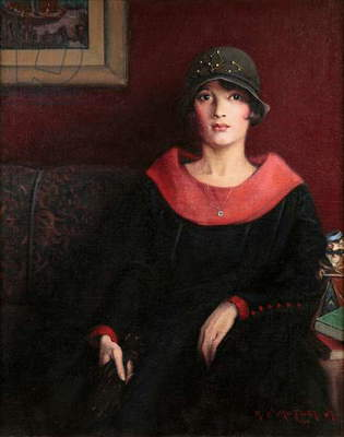 The Octoroon Girl, 1925 (oil on canvas)