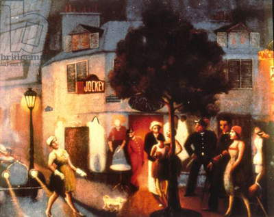 Jockey Club, 1929 (oil on canvas)
