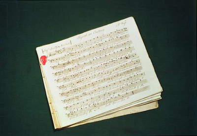 Original score of The Messiah