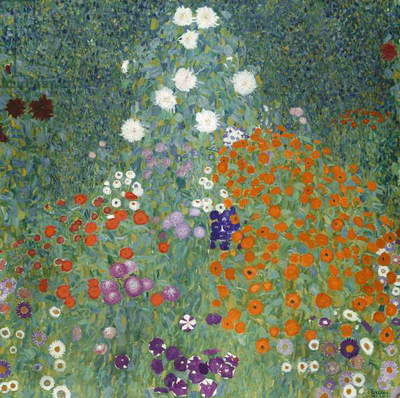 Flower Garden, 1905-07 (oil on canvas)