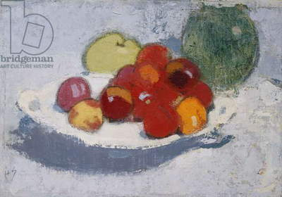 Still Life with Fruit, c.1915 (oil on canvas)