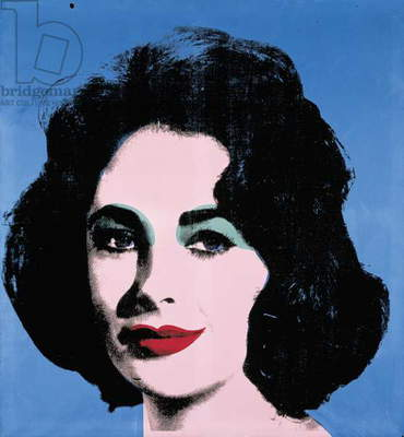 Liz, 1963 (synthetic polymer & silkscreen inks on canvas)