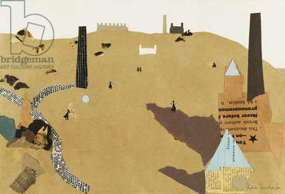 Industrial Landscape, 1938 (collage)