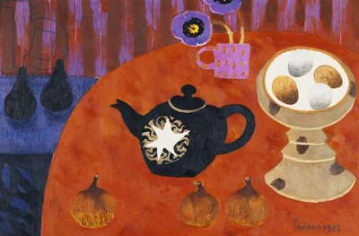 Black Teapot, 1989 (oil on canvas)