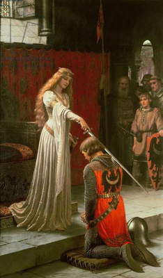 The Accolade, 1901 (oil on canvas)