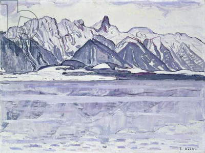 Stockhorn Verschneit, 1913-1914 (oil on canvas)