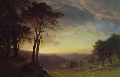 The Sacramento River Valley (oil)