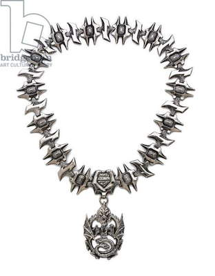 Chancellor Gorkon's necklace from 'Star Trek VI: the Undiscovered Country', 1991 (metal)