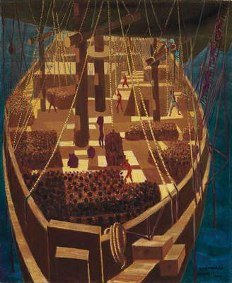Slave Ship, 1950 (oil on canvas)