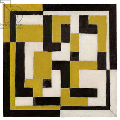 Composition, 1917-1918 (oil on board)