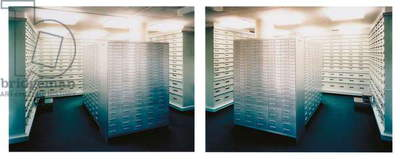 Zurich Bankproject No. 5, 1997 (chromogenic coupler print face-mounted to Plexiglas)
