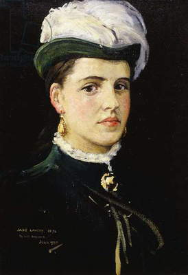 Posthumous Portrait of Jane Lavery, 1935 (oil on canvas board)