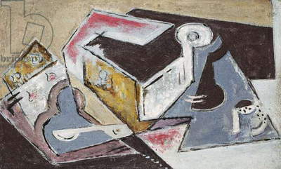 Cubist Composition; Composition Cubiste, c.1918 (oil on canvas)