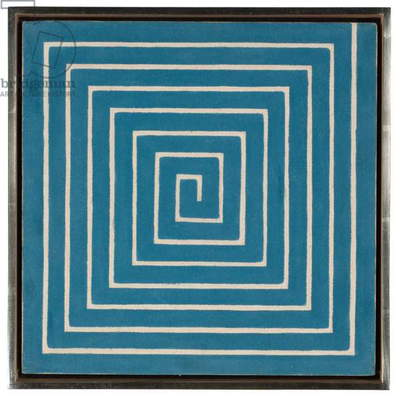 Labyrinth, 1960 (oil and graphite on canvas)