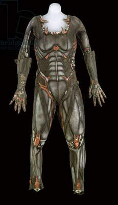 Borg Queen's costume, worn by Alice Kriege as the Borg Queen in 'Star Trek: First Contact', 1996 (cast latex)