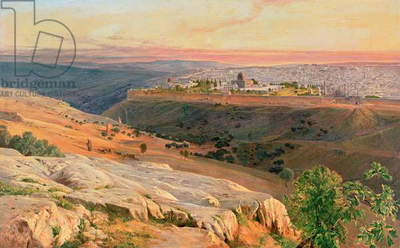 Jerusalem from the Mount of Olives, 1859