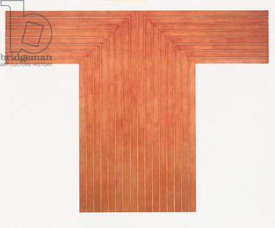 Telluride, 1960-61 (copper paint on canvas)