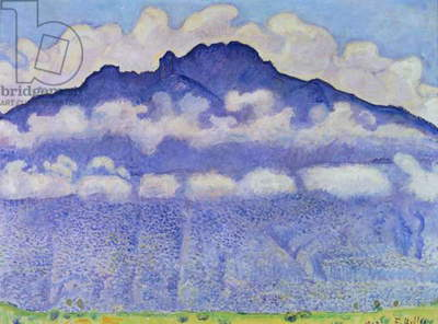 Andey Mountain, vue from Bonneville, 1909 (oil on canvas)