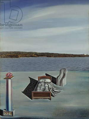 Surrealist Composition, 1926 (oil on board)