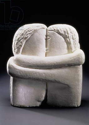 The Kiss, 1908-09 (plaster)