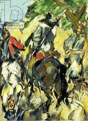Don Quixote, View from the Back, c.1875 (oil on canvas)