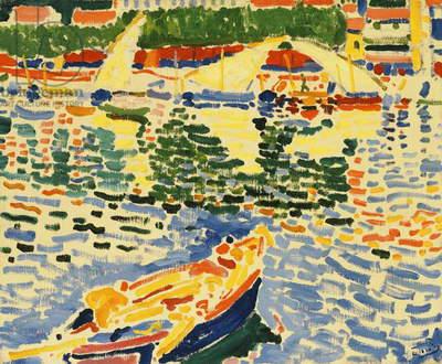 Boats at the Port of Collioure, c.1905 (oil on canvas)