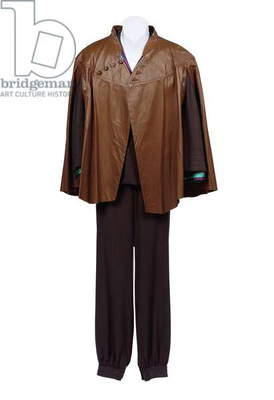 Sulu's outfit, worn by George Takei as Sulu in 'Star Trek III: the Search for Spock', 1984 (leather & textile)