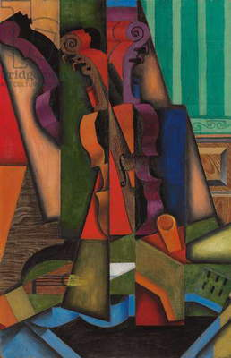 Violin and Guitar, 1913 (oil on canvas)