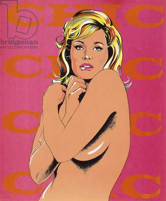 Chic, from Eleven Pop Artists, Vols. I-III, New York, Original Editions Inc, 1965, 1965 (screenprint in colours)