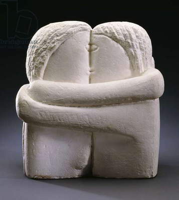 The Kissers, 1910 (plaster)