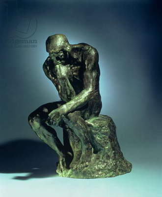 The Thinker, c.1881 (bronze)