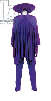 Whoopi Goldberg's purple Guinan outfit from ''Star Trek: the Next Generation'', 1987-94 (textile)