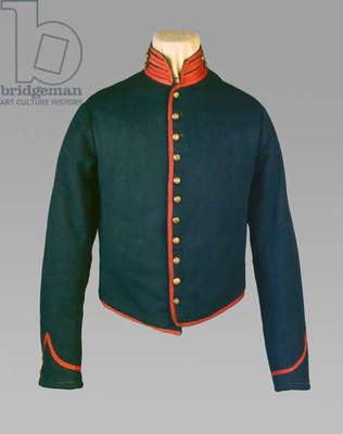 United States Army private of light artillery jacket, c.1861-1865 (mixed media)