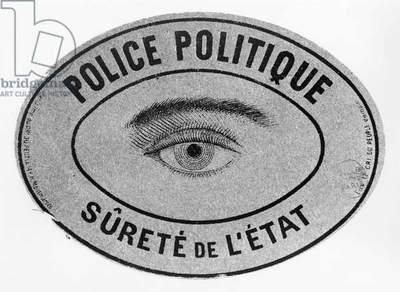 Advert probably published in the newspaper 'Le Cri du Peuple' confiscated by the police, 1886 (b/w photo)
