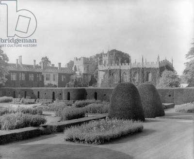 Sudeley Castle, from 'Country Houses of the Cotswolds' (b/w photo)