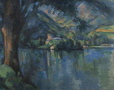 The Lac d'Annecy, 1896 (oil on canvas)