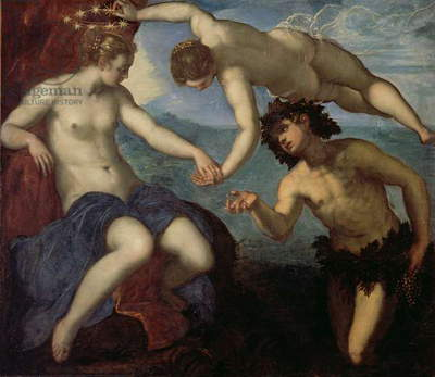 The Discovery of Ariadne, 1578