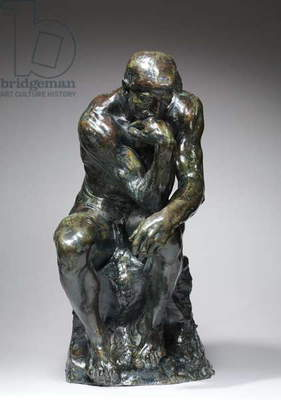 The Thinker, c.1880 (bronze)