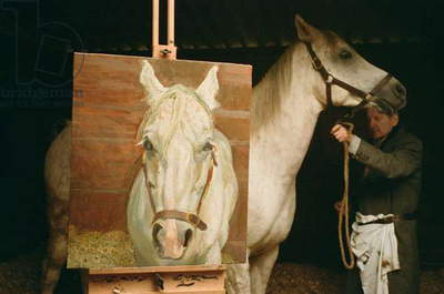 In the Stable, 2003 (c-type photo)